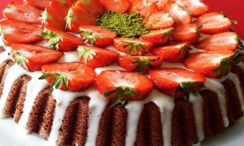Çilekli Tart, Kek Tarifleri Malzemeler