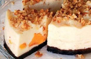 Şeftalili İrmik Pastası, Sütlü Tatlılar, Tatlı Tarifleri, Sütlü Tatlı Tarifleri